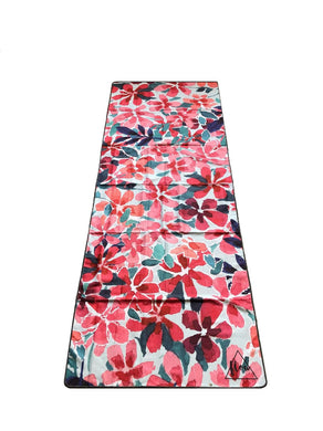 Flow Floral Yoga Towel