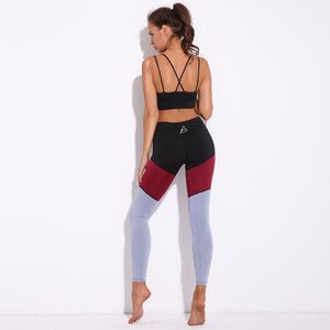 Tri-colour Fitness/Yoga Pants
