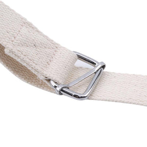 Yoga strap with buckle