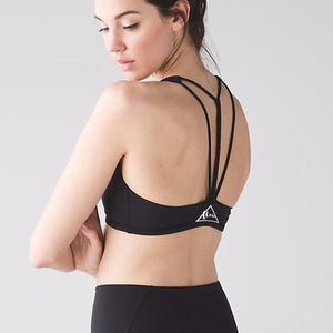 Triangular Design Sports/Yoga Crop Top