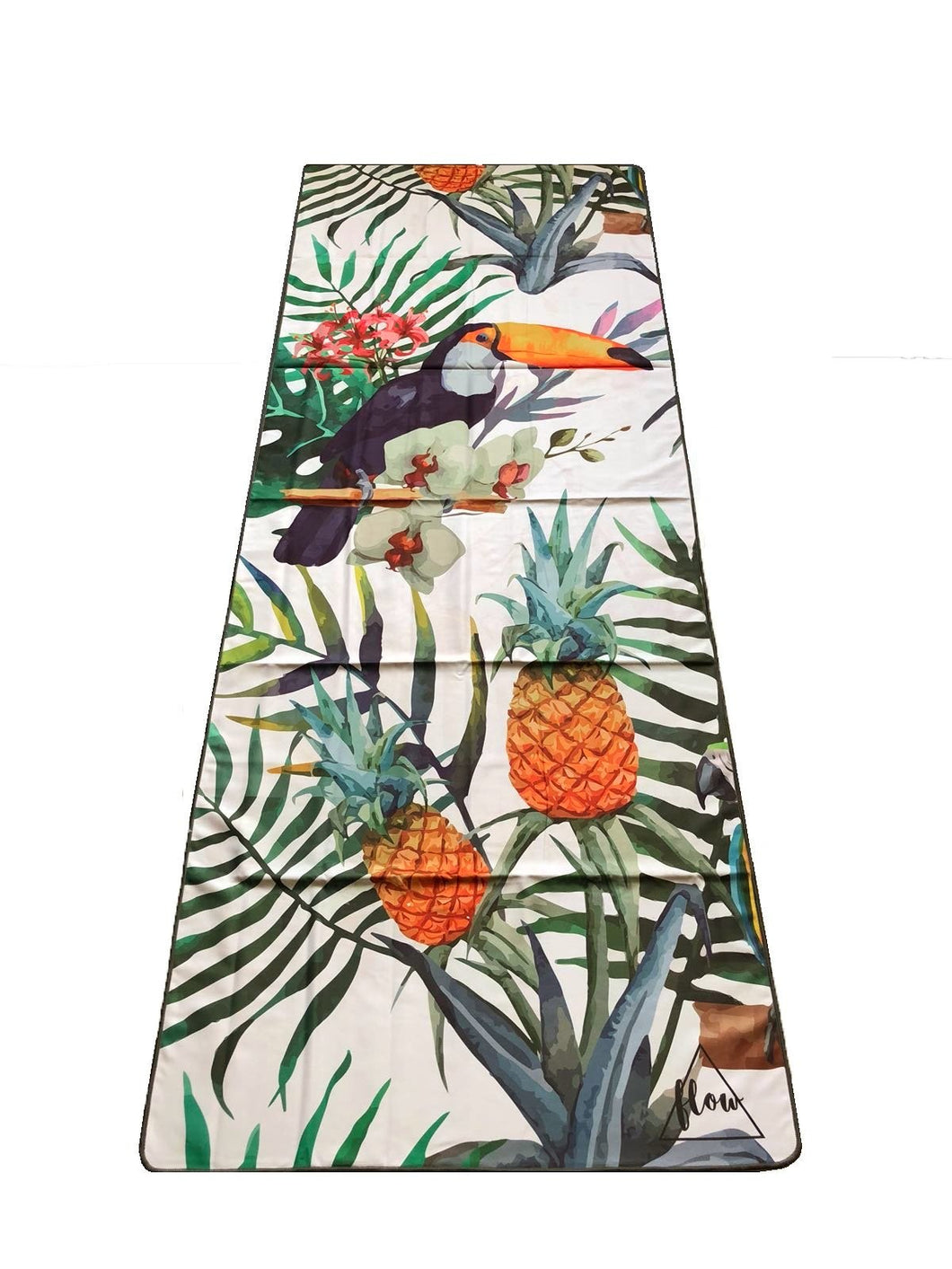Flow Tropical Yoga Towel