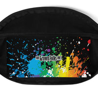 Summer Fun (Black) Fanny Pack