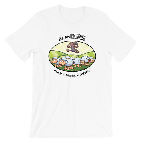 Positive Individual Sheeple Shirt - For Grown Folks Only Merch