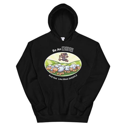 Positive Individual Sheeple Hoodie - For Grown Folks Only Merch