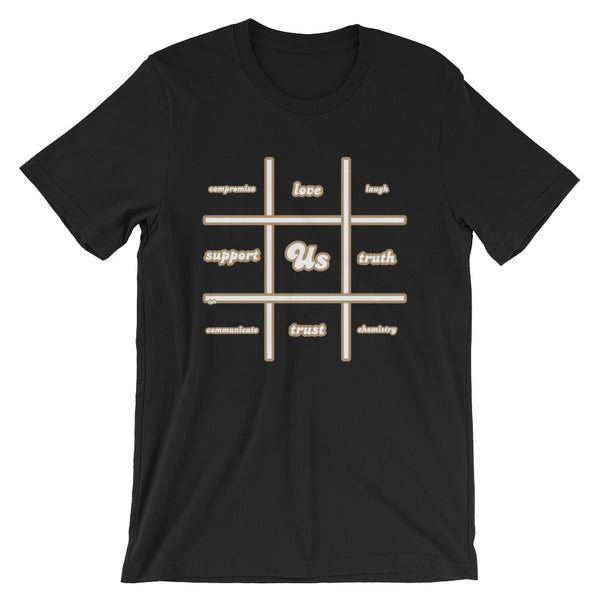 Tic-Tac-Toe Us T-Shirt - For Grown Folks Only Merch