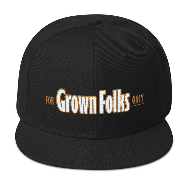 Official For Grown Folks Only Snapback Hat - For Grown Folks Only Merch