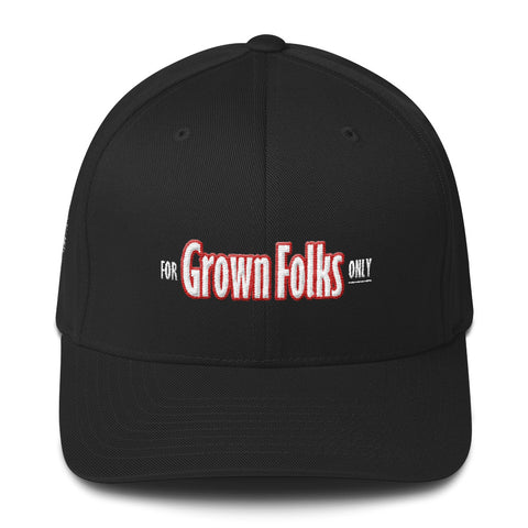 Official For Grown Folks Only (Low Profile) Cap - For Grown Folks Only Merch