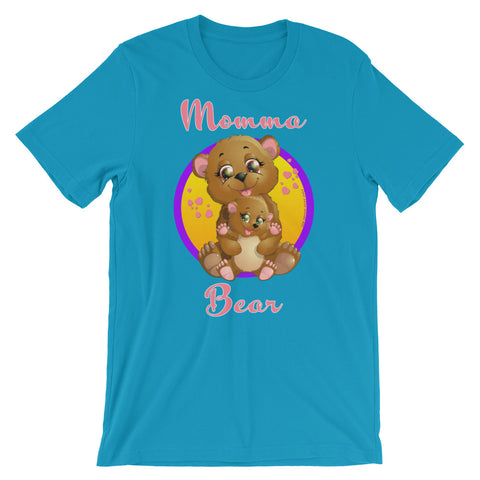 Momma Bear Graphic T-Shirt - For Grown Folks Only Merch