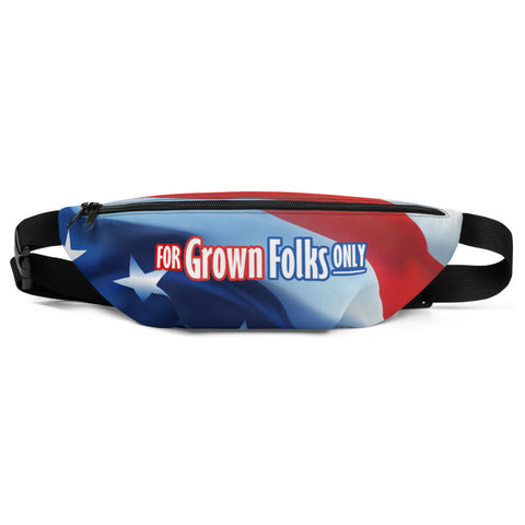 Independence Fanny Pack - For Grown Folks Only Merch
