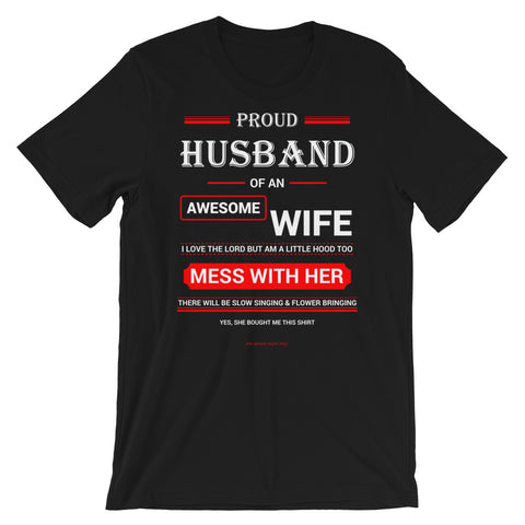Proud Husband Shirt - For Grown Folks Only Merch