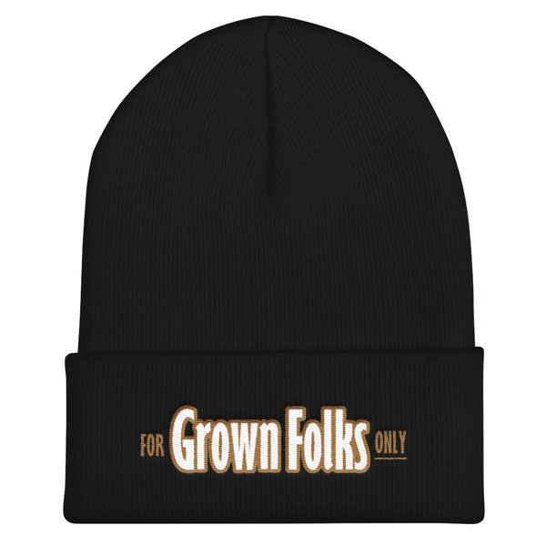 Official For Grown Folks Only Beanie - For Grown Folks Only Merch