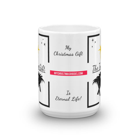 Eternal Life Christmas 15oz Mug - For Grown Folks Only Merch