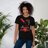 Everyday Mom (Black/Red) Graphic T-Shirt - For Grown Folks Only Merch