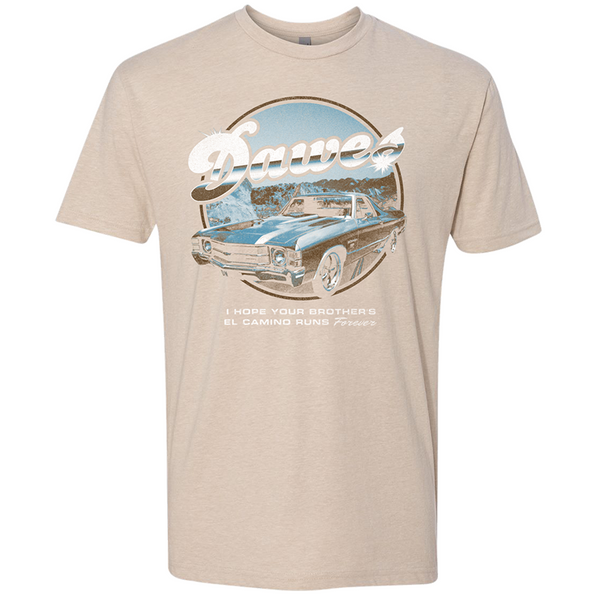 Brothers El Camino Tan T Shirt