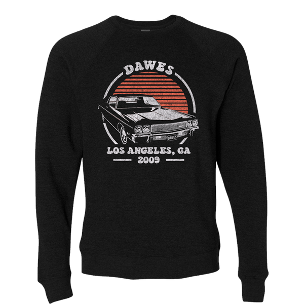 Hot Rod Black Crewneck Sweatshirt