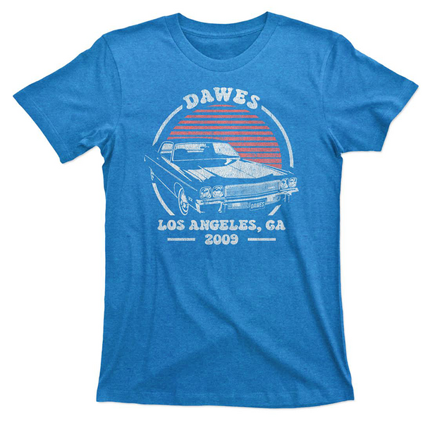 Hot Rod Blue T Shirt
