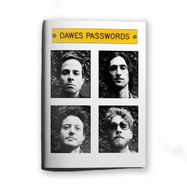 Passwords Lyric & Photo Zine