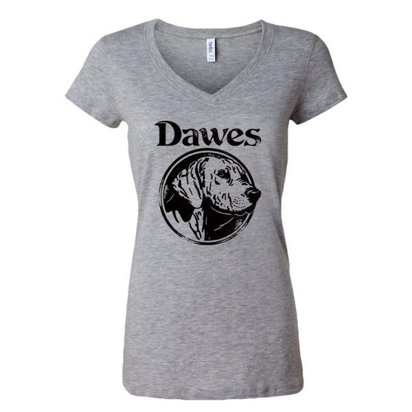 Women's Dog Heather Grey T Shirt