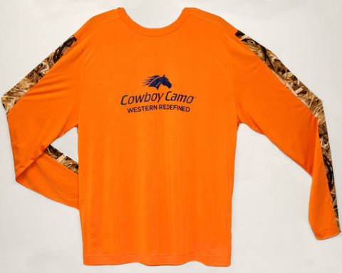 Performance Tee Shirt - Orange