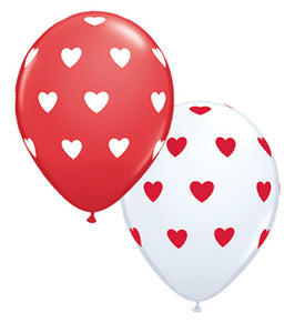 "11"" Be mine Balloon Bouquet (6 count)"