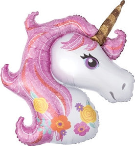 "33"" Large Magical Unicorn Balloon"