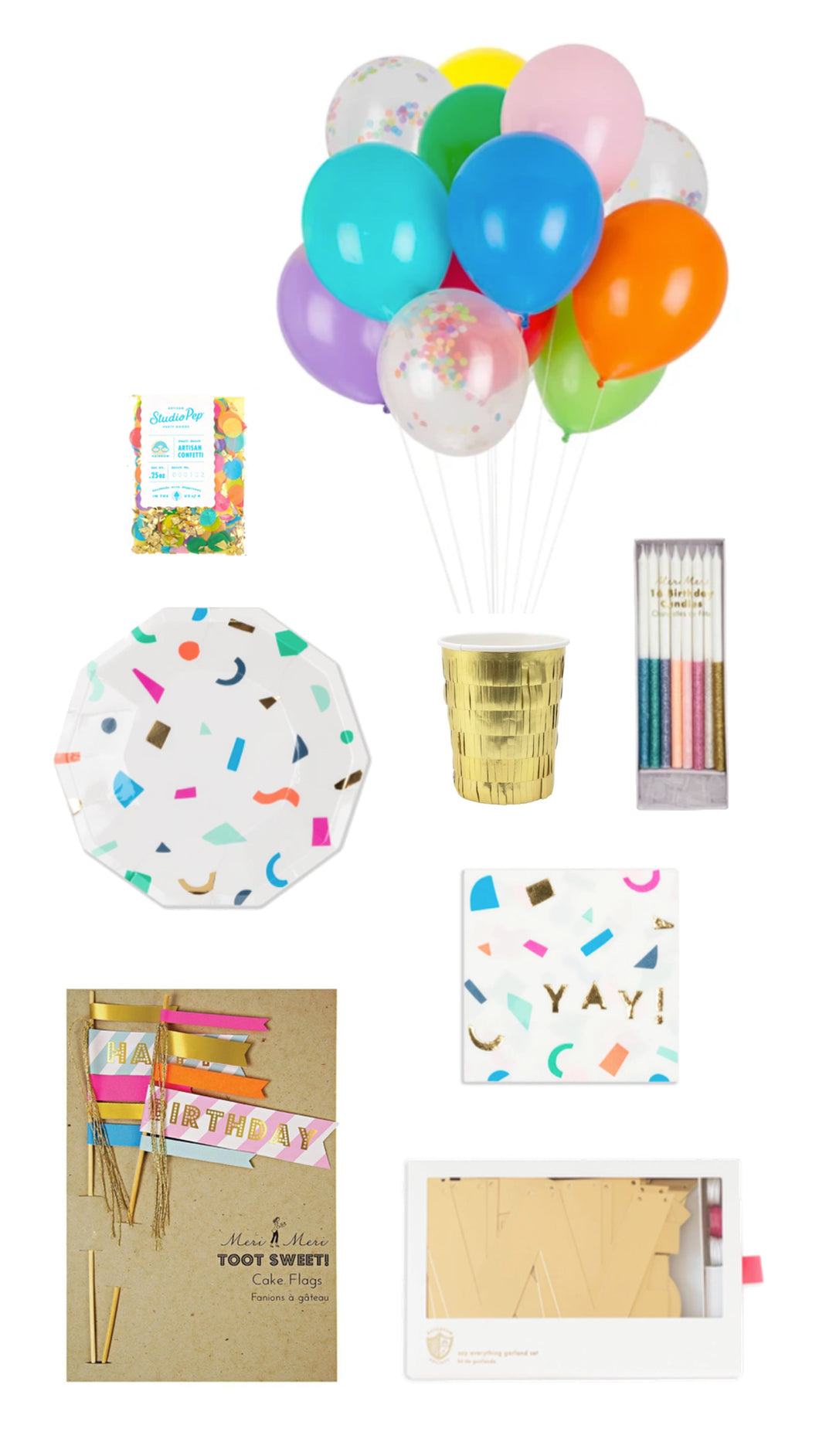 HAPPY BIRTHDAY PARTY BOX