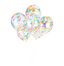 Load image into Gallery viewer, Ice Cream Sprinkles Confetti Balloons