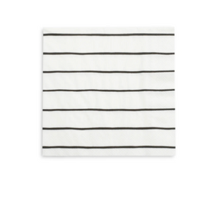 Frenchie Striped Large Napkins