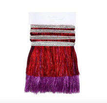 Load image into Gallery viewer, Meri Meri Red & Pink Tinsel Fringe Garland