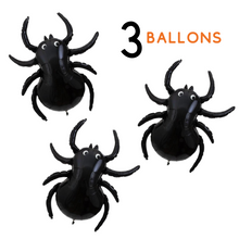 Load image into Gallery viewer, Giant Spider Set of 3 Balloons