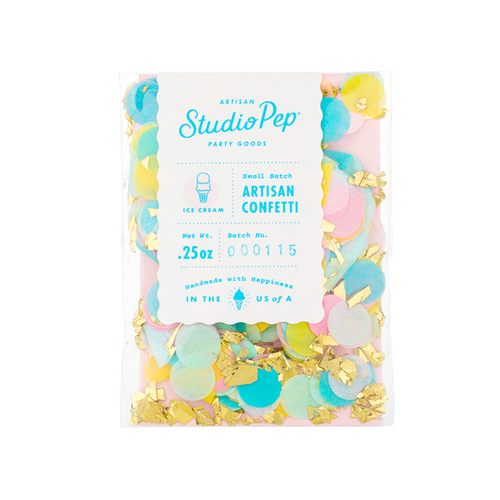 Ice Cream Mini Artisan Confetti Pack