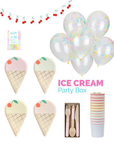 ICE CREAM PARTY BOX