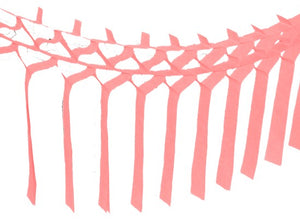 Light Pink Tissue Streamer Garland