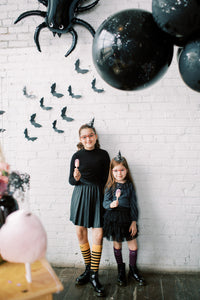 3D Glitter Bat Wall Decorations