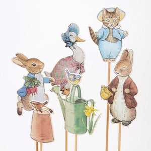 Meri Meri Peter Rabbit and Friends Cake Toppers
