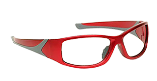 Non-prescription lead glasses