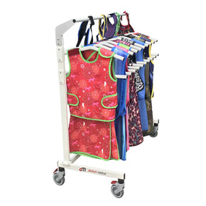 Mobile Lead Apron Rack for Tops & Skirts - Deutsch Medical
