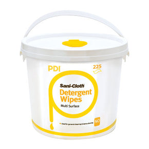 PDI Sani-Cloth Multi-Surface Detergent Wipes (225ct bucket) - Deutsch Medical