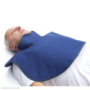 Patient Shield for CT Scans with Thyroid Protection - Deutsch Medical