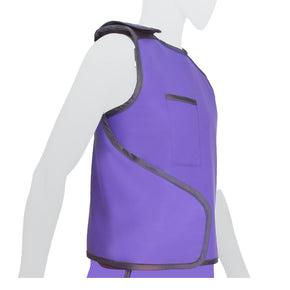 Double-Sided Lead Apron Vest Side View - Deutsch Medical