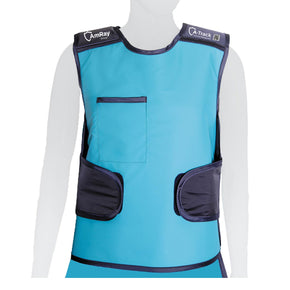 Easy-Fit Lead Apron Vest Front View - Deutsch Medical
