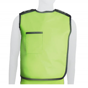 Semi-Wrap Plus Lead Apron Vest Front View - Deutsch Medical