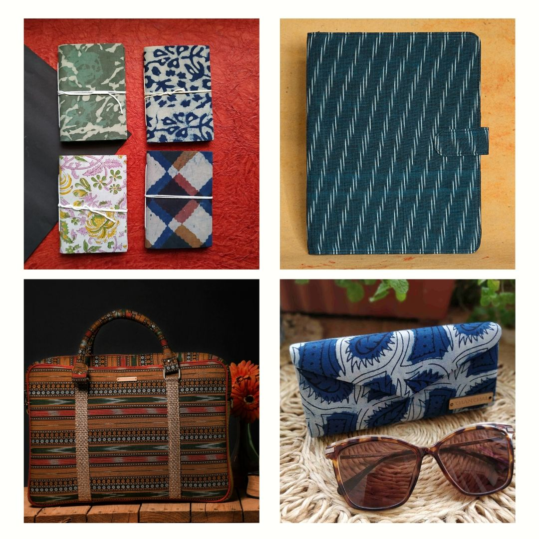 Corporate gifts laptop bags folders journals chanchal www.chanchal.co.in