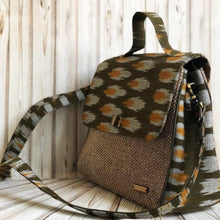 Load image into Gallery viewer, Ikat Jute Bag