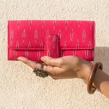 Load image into Gallery viewer, Ikat Pink Wallet