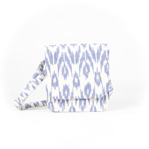 Ikat White Sling Bag