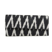 Load image into Gallery viewer, Ikat Black Wallet