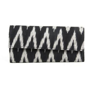 Ikat Black Wallet