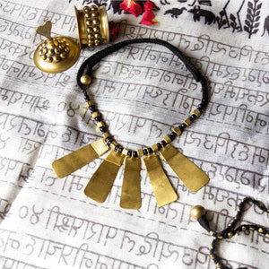 Dokra Long Pendants Neckpiece