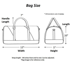 Bag Dimensions Size Chart Chanchal